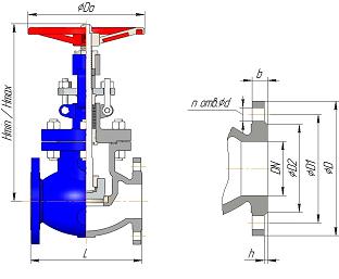 Клапан ЛПА21001-45