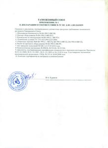 ТР ТС 032 по ТУ023 затворы дисковые ВА99012 ВА99013 ВА99014